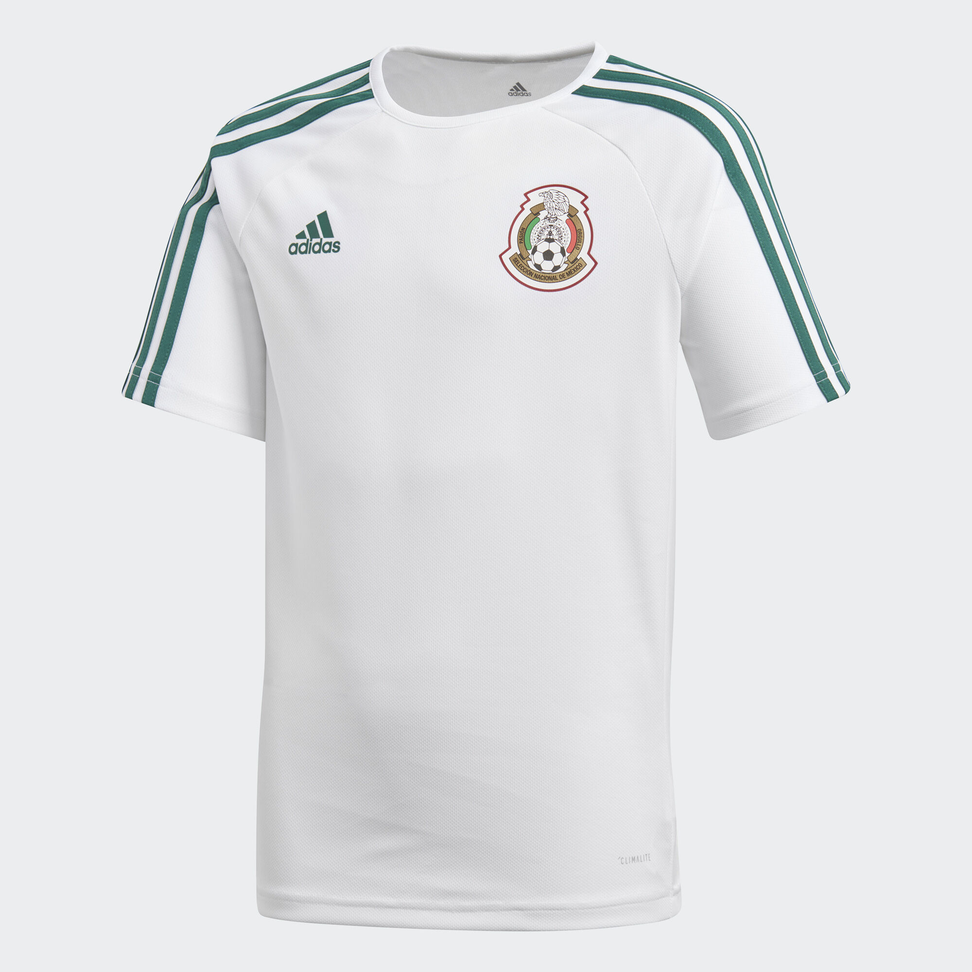623bb1eed1607 adidas Playera México de Visitante Fan 2018 - Blanco