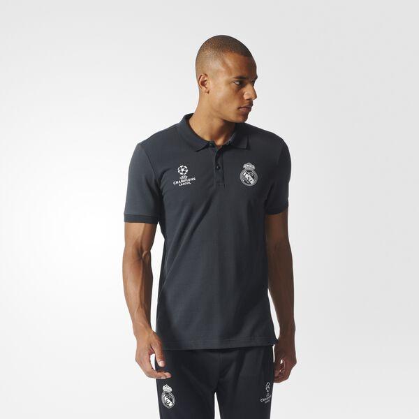76e628c14cf07 adidas Real Madrid Camiseta Polo UCL - Gris