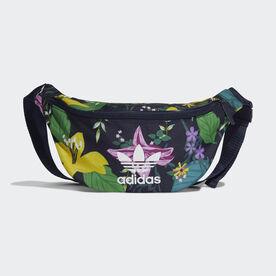 adidas Waist Bag - Blue  e9449f414bfa9