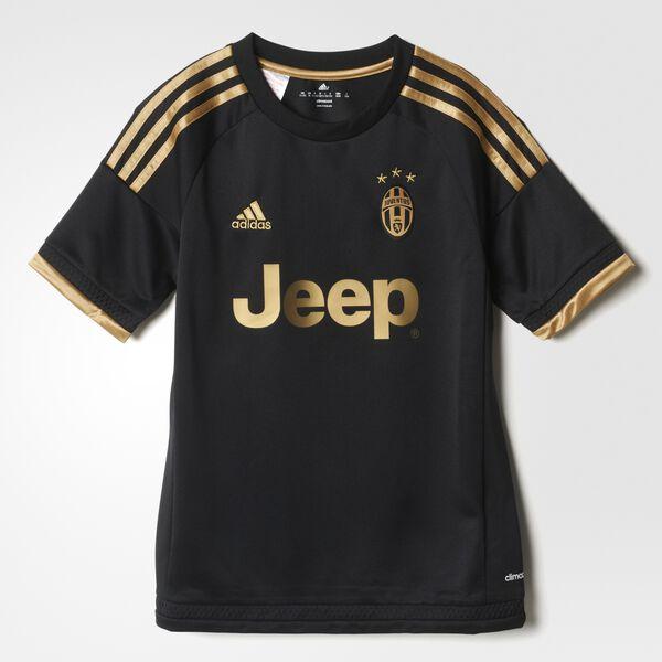 bcb59b7bbca03 Camiseta de tercera equipación de la Juventus BLACK DARK FOOTBALL GOLD  S12851