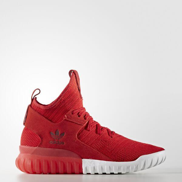 ea5c42368485 adidas Men s Tubular X Primeknit Shoes - Red