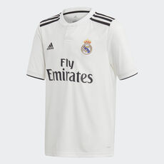 d66aca9bb2d33 adidas - Jersey de Local Real Madrid 2018 CORE WHITE BLACK CG0554