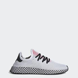 c42d0bd999eb9a adidas Deerupt Pride Shoes - White